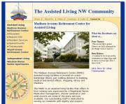 Assisted Living Northwest. Website for assisted living facility